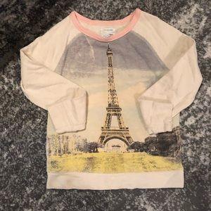 Crew cuts real cute pastel Eiffel tower